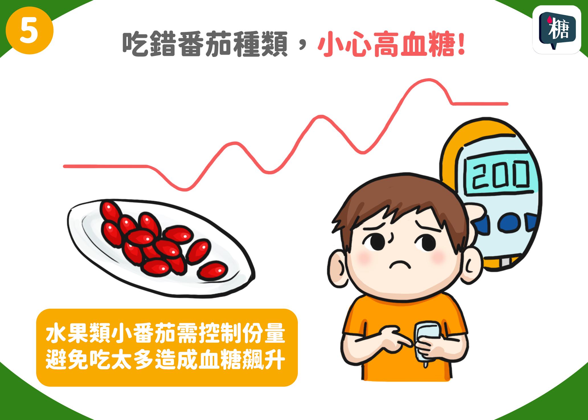 吃錯番茄品種,小心高血糖!