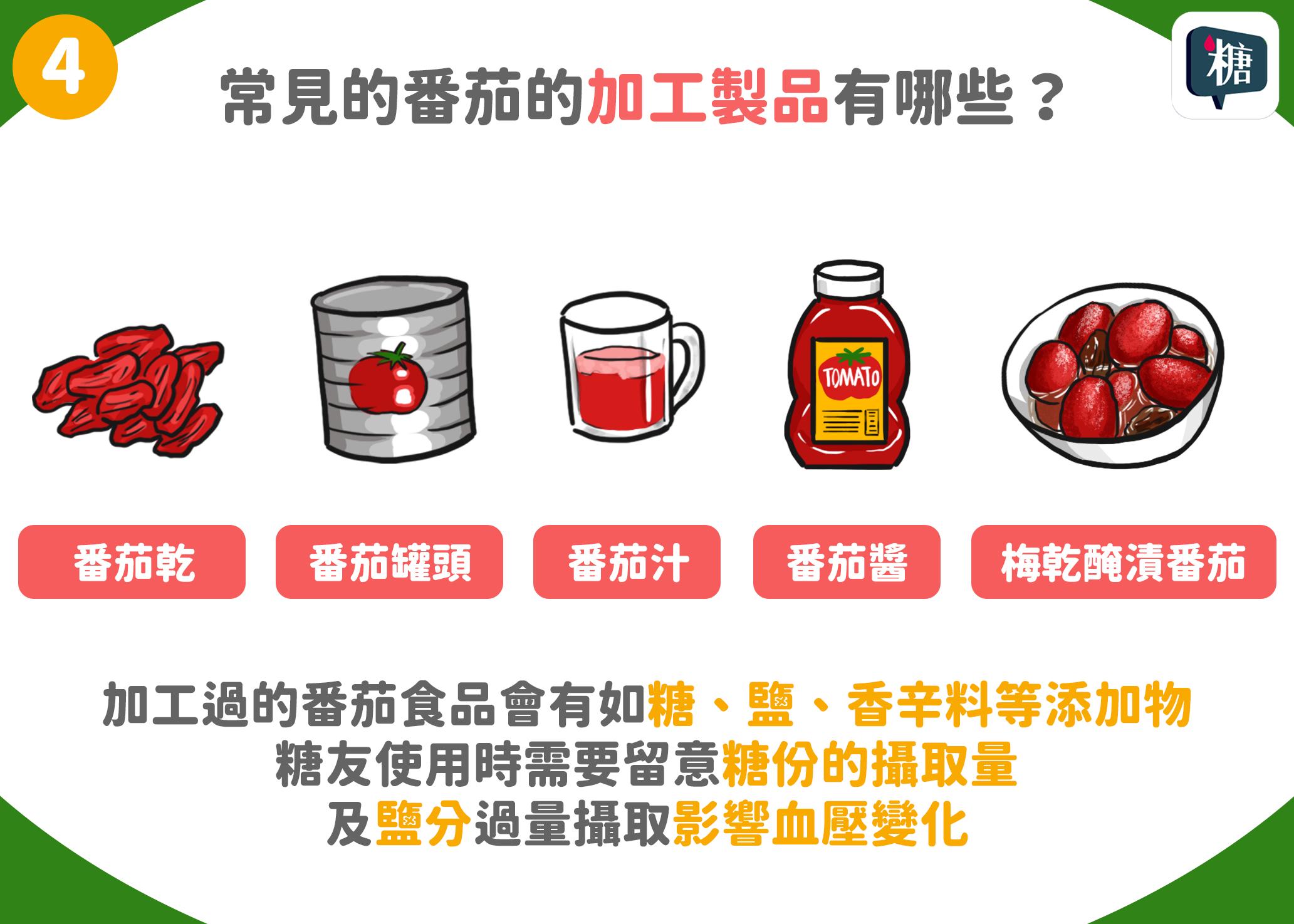 常見的番茄加工製品有哪些?
